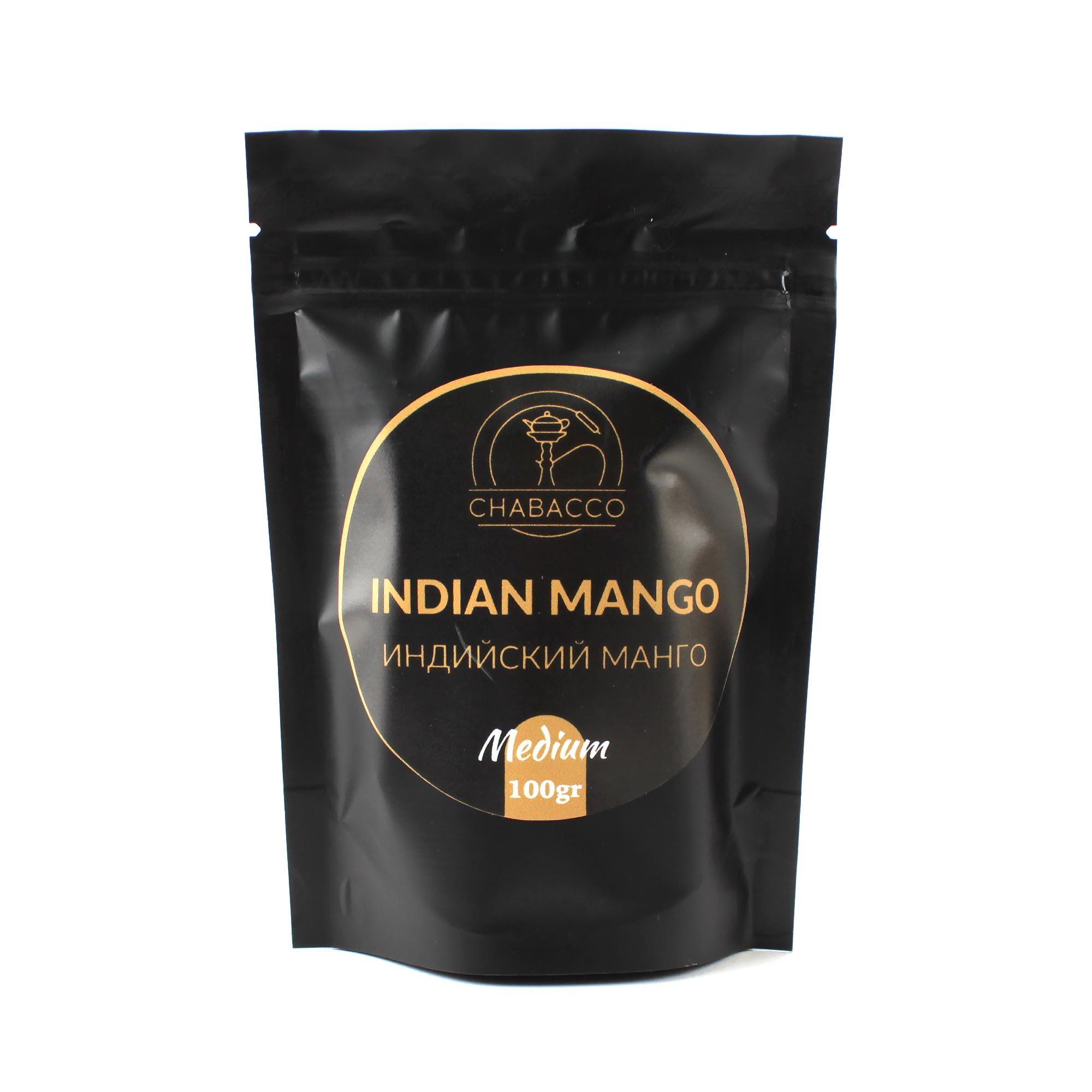 Кальянная смесь Chabacco Medium 100 гр Indian Mango