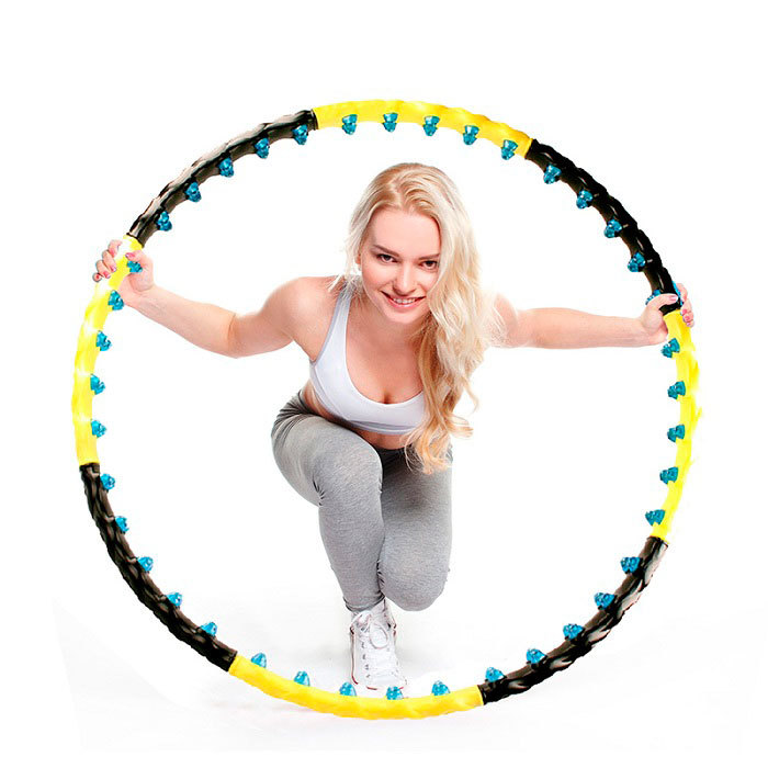 Спорт/Фитнес/Похудение Массажный обруч с 80 силиконовыми шариками с магнитами obruch5.jpg