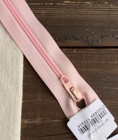 Молния спиральная 4мм, Riri, 18см, светло-розовый