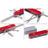 Нож перочинный Victorinox Climber красный