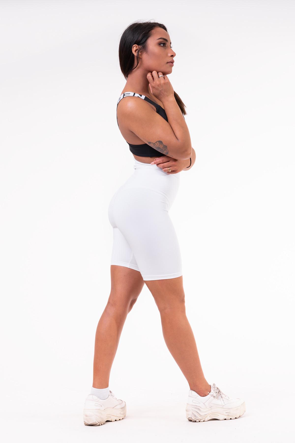 Женские велосипедки Nebbia high waist Road Hero biker shorts 683 white