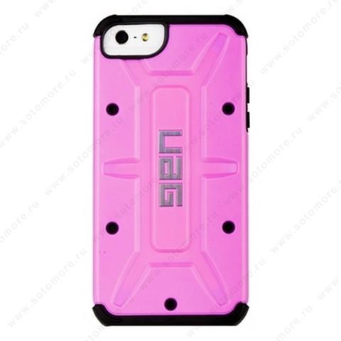 Накладка UAG для iPhone SE/ 5s/ 5C/ 5 розовая