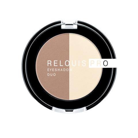 Relouis pro Тени для век Eyeshadow duo тон 102