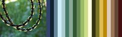 с каким цветом одежды носить бусы из зелёного янтаря