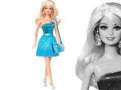 "Кукла Барби ""Блестящая Студия"" (голубое платье)"