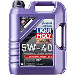 1925 LiquiMoly Синт.мот.масло  Synthoil High Tech 5W-40 SM/CF;A3/B4(5л)