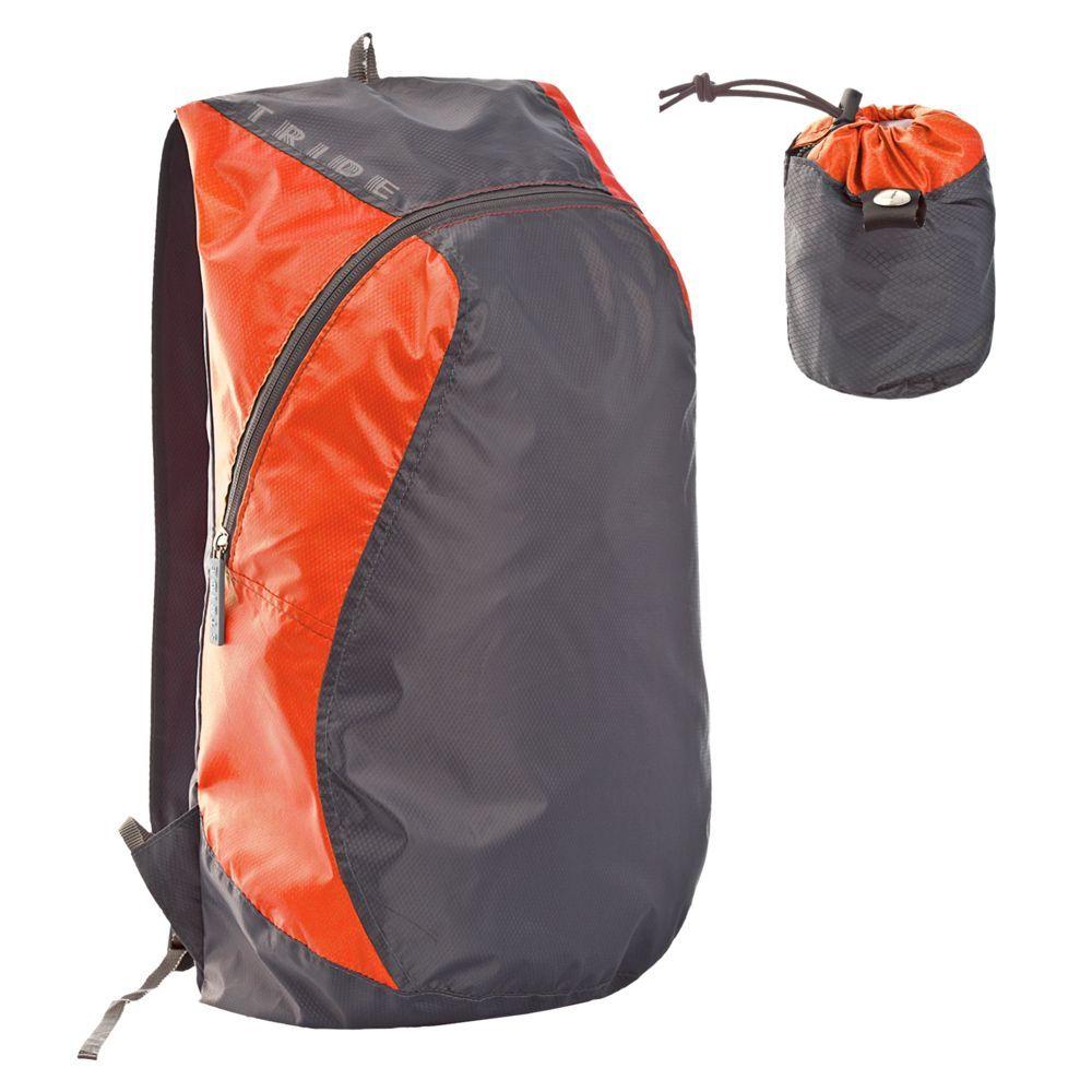 Wick Foldable Backpack, orange