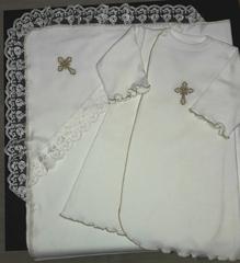 набор для крещения  Незнайка (трикотаж)