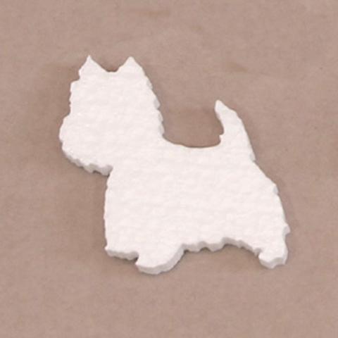 Собака из пенопласта
