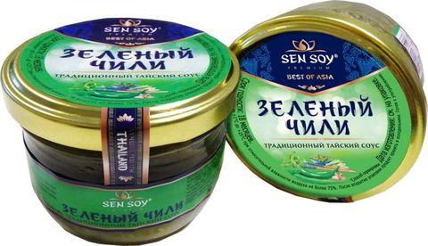 Соус зеленый чили Sen Soy, 100г