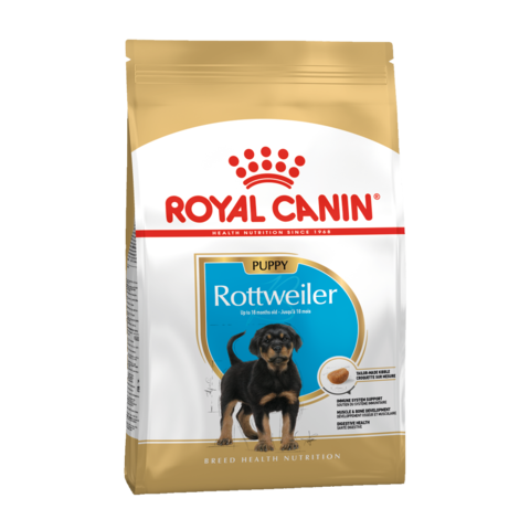 Royal Canin Rottweiller Puppy Сухой корм для щенков породы Ротвейлер