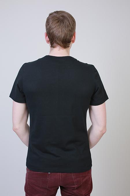 Выкройка мужской футболки с коротким рукавом фото