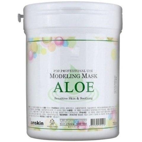 Альгинатная маска с экстрактом алоэ ANSKIN Aloe Modeling Mask