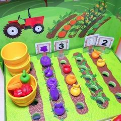 набор для сортировки Выращиваем овощи