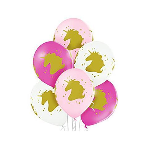 Воздушные шары Единороги головы