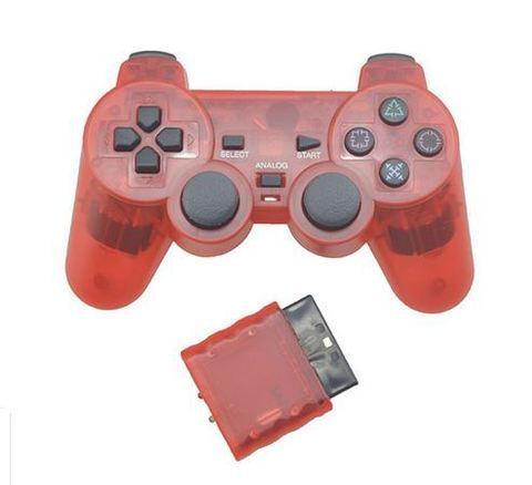 PS2 Контроллер игровой беспроводной (красный, копия)