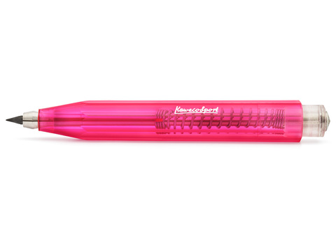 Карандаш цанговый ICE Sport 3.2мм розовый прозрачный корпус