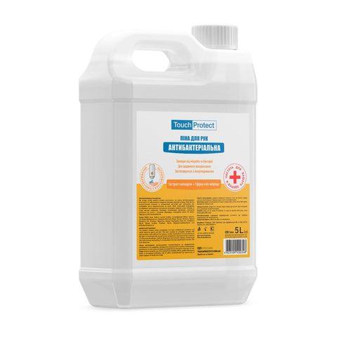 Антибактериальное мыло-пена для рук Календула-Чабрец Touch Protect 5 L (1)