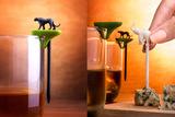 Набор шпажек-маркеров для бокалов Hot animal Qualy QL10170-MX | Купить в Москве, СПб и с доставкой по всей России | Интернет магазин www.Kitchen-Devices.ru