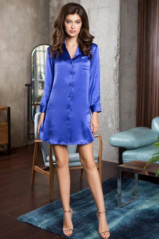Рубашка Rosemary 15146 Blue Mia-Mia