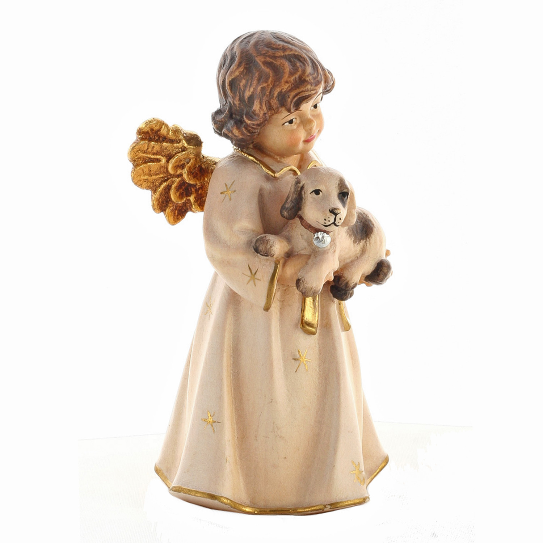 Ангел Бэл со щенком