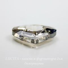 6262 Подвеска Сваровски Miss U Heart Crystal Satin (17 мм)