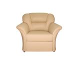 Кресло Глаффи-2, обивка натуральная кожа