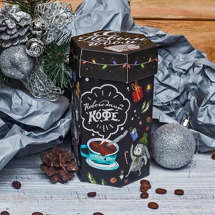 Купить новогодний подарочный кофе с ванилью в Перми