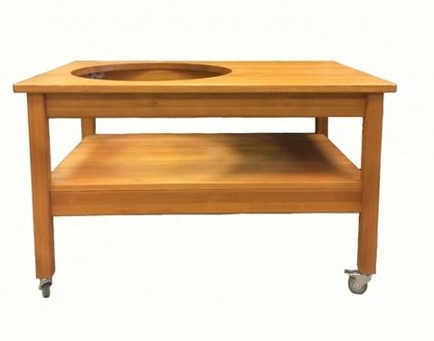 Стол из сибирской лиственницы Kamado Big Joe