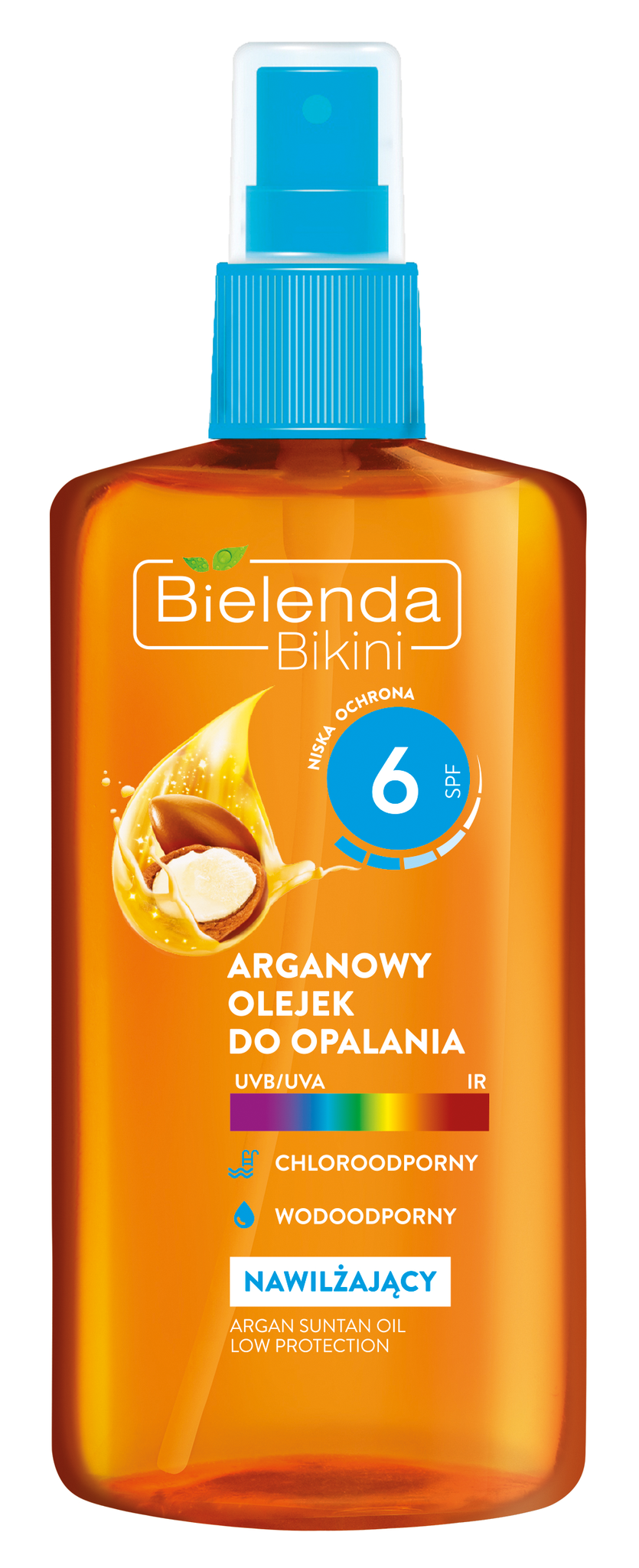 BIKINI Аргановое масло для загара SPF 6, 150 мл