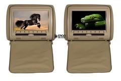 Комплект автомобильных DVD подголовников ERGO ER900HD