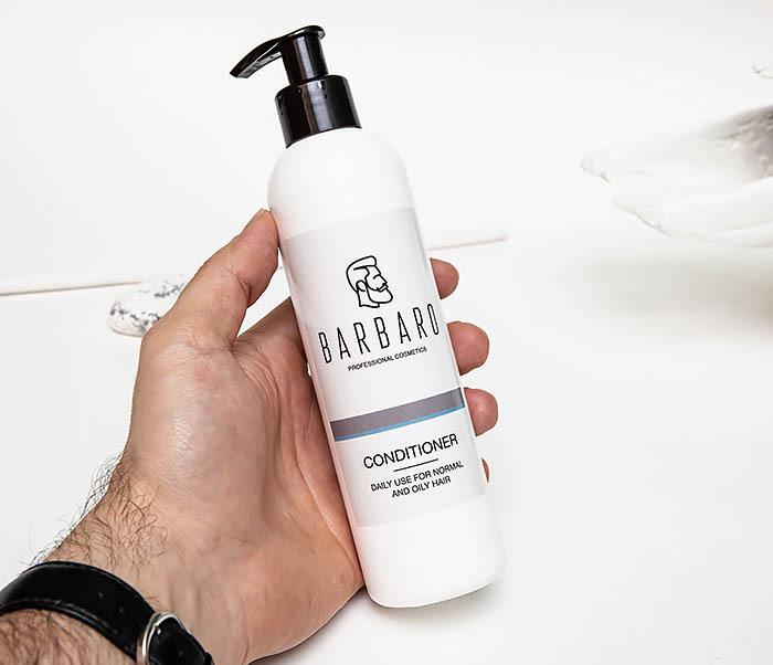 CARE136 Мужской ежедневный кондиционер для волос «Barbaro» (220 мл) фото 03