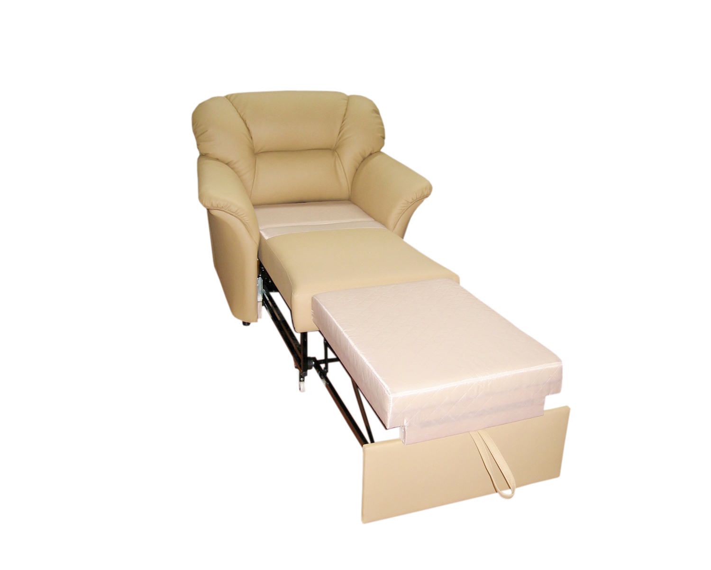 Кресло-кровать Глаффи-2, спальное место 60х90 см,механизм Конрад