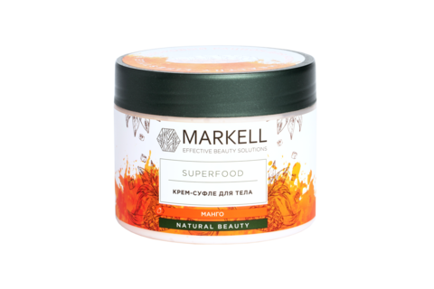 Markell Superfood Крем-суфле для тела манго 300мл