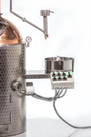 Дистиллятор медный Des Premium Dwec 120 литров