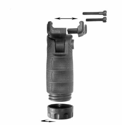 Тактическая складная рукоять FAB Defense (T-FL) Picatinny / Weaver