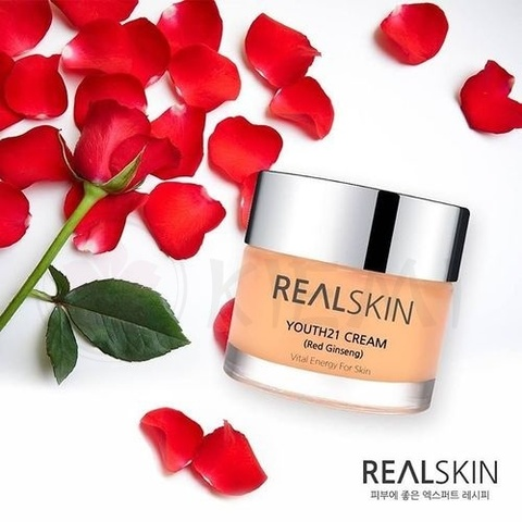 REALSKIN Крем для лица  Youth 21 Cream Red ginseng, 50 гр