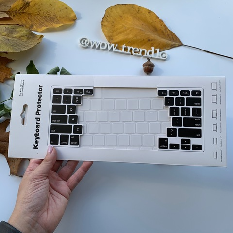 Накладка на клавиатуру MacBook 13/15/17 Air Pro Retina /cristal/