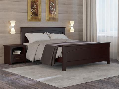 Кровать Райтон Марсель с основанием (БУК КАШТАН)