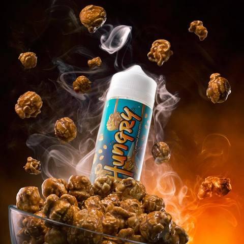 Hungry Caramel Popcorn