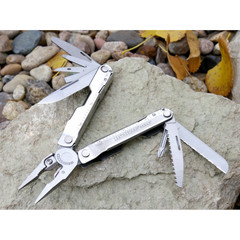 Мультитул Leatherman Rebar, 17 функций, кожаный чехол (831560) - Multitool-Leatherman.Ru