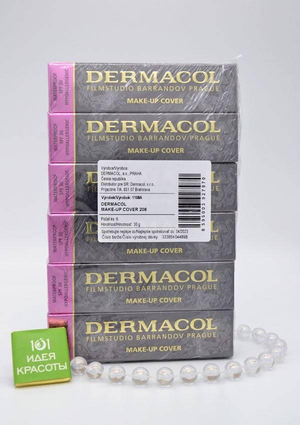 Dermacol Make Up Cover Тональный крем с SPF 30  и усиленным эффектом маскировки, 30мл