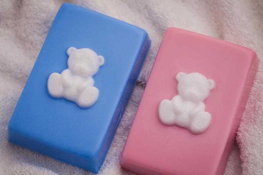 Форма пластиковая для мыла Мимимишка на прямоугольнике