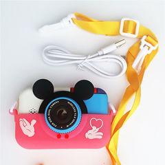 Детский цифровой фотоаппарат Микки Smart Kids Camera 4 Series MIKKI розовый