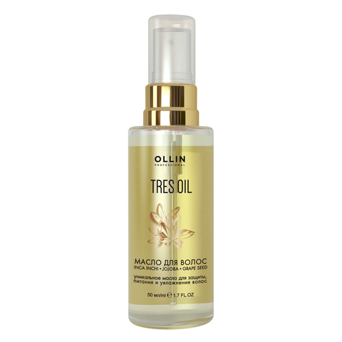 Масло для волос Tres Oil от OLLIN Professional 50 мл