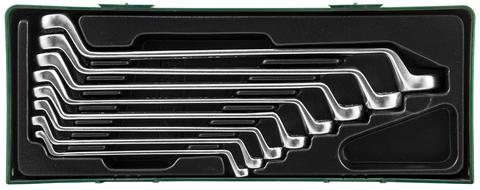 Набор ключей накидных 75-гр., 6-22 мм, 8 предметов (ложемент)