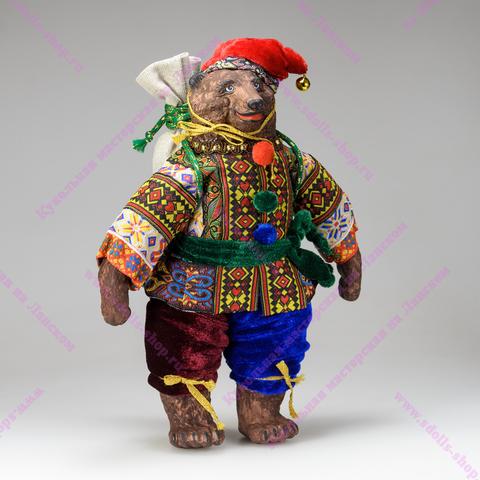 Интерьерная кукла Медведь