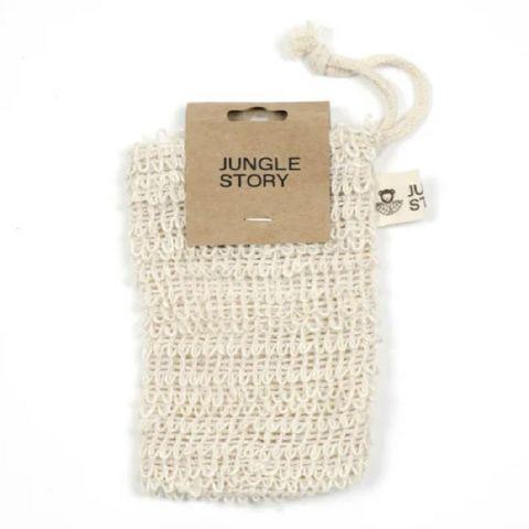 Сизалевый мешочек мочалка для душа и для заваривания травяных ванн Jungle Story