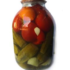 Ассорти домашнее из овощей с уксусом 1,5 л