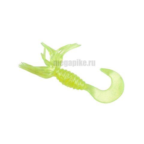 Приманка силиконовая Gene Larew Bobby Garland 1,5'' Crappie Spider (упак. 10 шт.) / цвет Pearl Chartreuse